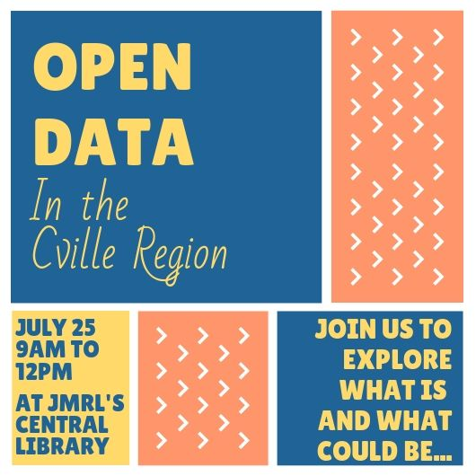Open Data in the Cville region image